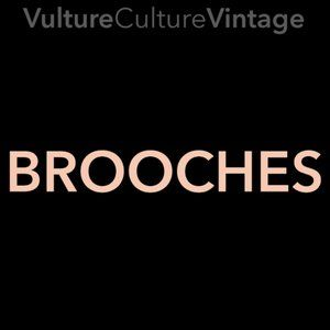 Vulture Culture Vintage 💀 BROOCHES